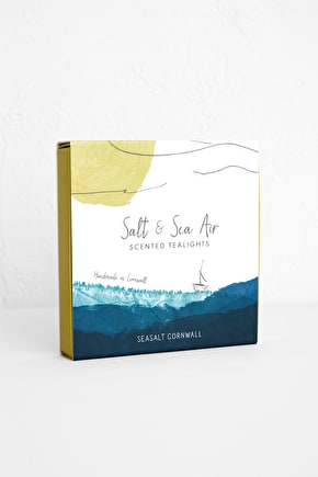 Salt & Sea Air Scented Tealights - Seasalt Cornwall