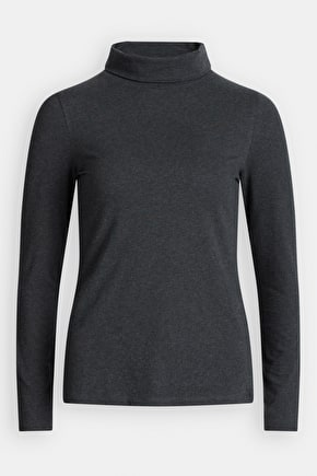 Cotton Top With Slouchy Roll Neck - Seasalt