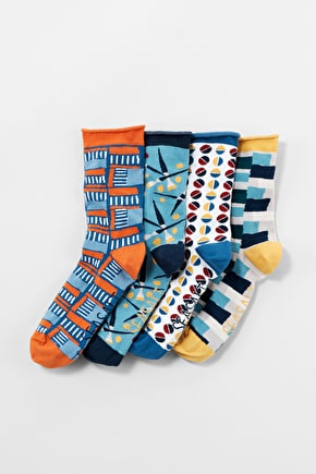 Women's Arty Socks Box of 4