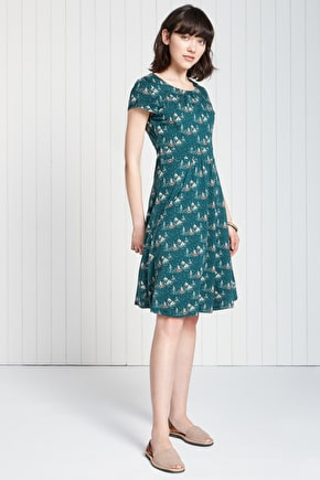 Carnmoggas Dress, Bamboo Jersey Long Dress  - Seasalt
