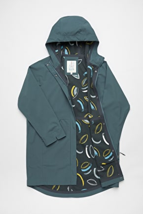 Hidden Creek Coat, Bamboo Lined Waterproof Raincoat - Seasalt Cornwall