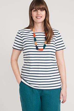 The orginal Sailor T-shirt, Cotton Breton Striped Top - Seasalt