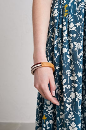 Bright Contrast Bangle
