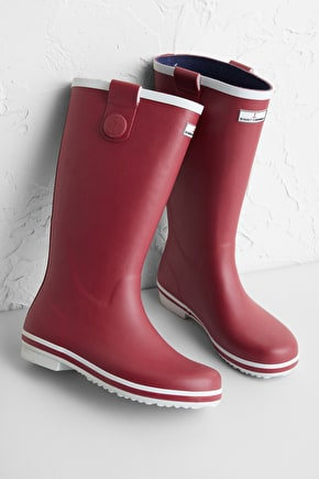 Tall Deck Wellies, Printed wide calf wellingtons - Seasalt