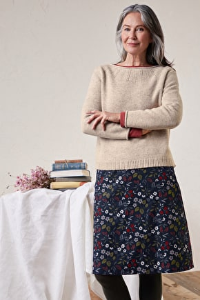Day Trip Jumper, Midweight Merino Knit - Seasalt Cornwall