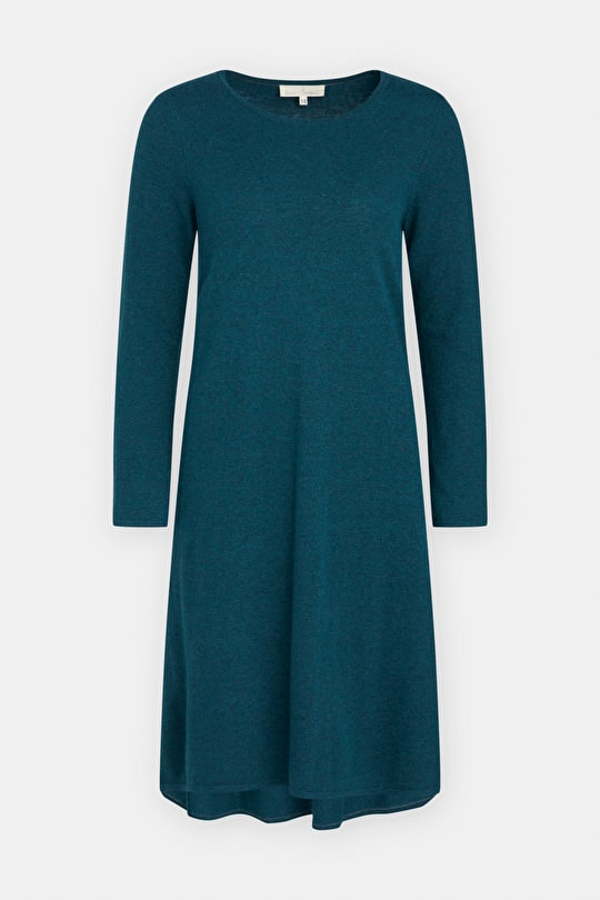Merino-blend Sunset Sweater Dress - Seasalt