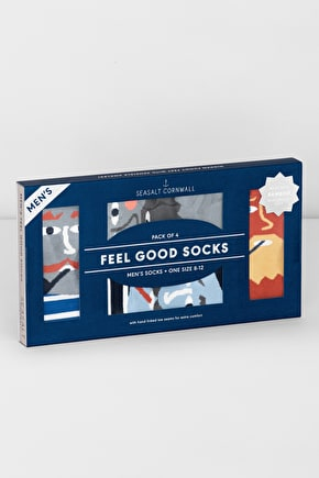 Soft Bamboo Socks. A Box Of Socks With Hidden Appeal! - Seasalt