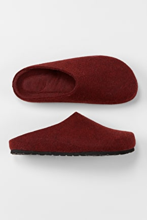 Felted Wool Mule Slippers. Perfect For Lounging - Seasalt