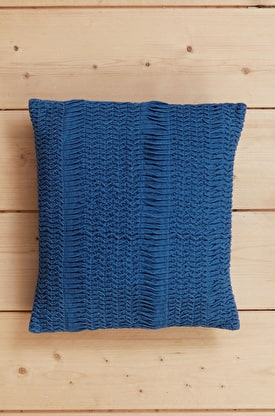 Wave Stitch Cushion