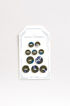 Laundry Buttons, Fabric Covered Buttons