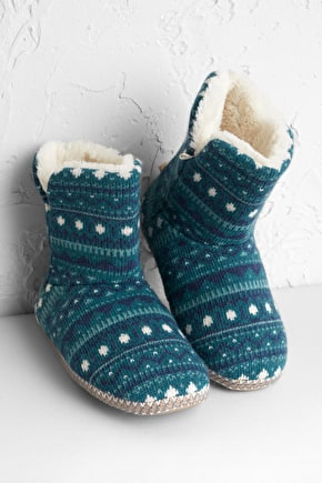 Women's Slipper Booties with Outdoor Sole - Seasalt