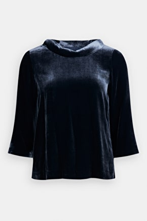 Enchanted Valley Top, Beautiful SIlk Velvet Top - Seasalt Cornwall