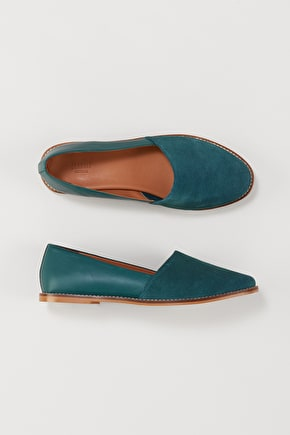 Comfy Leather and Suede Melody Shoe - Seasalt