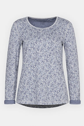 Warwick Top - Reversible printed jersey top - Seasalt