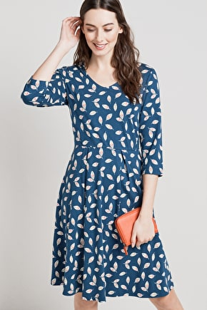Flattering Fit & Flare Dress. In Unique Seasalt Prints