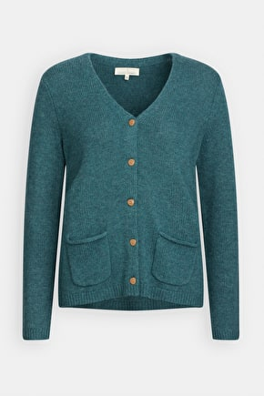 Log Basket Cardigan, Wool Knit Cardi - Seasalt Cornwall