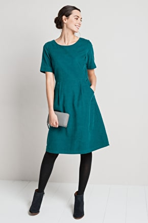 Beautifully Soft Needlecord Dress - Seasalt