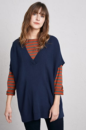 Carngalva Jumper, Oversized Merino Wool Jumper - Seasalt Cornwall