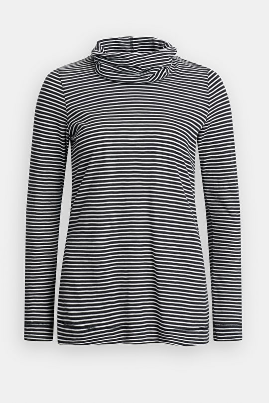 Carefree Top, Sporty Striped Organic Cotton Top - Seasalt Cornwall