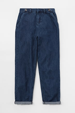 Scots Pine Trouser, Indigo-Washed Denim - Seasalt