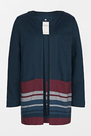 Handsome Cotton Jacket. In Soft Herringbone Twill - Seasalt