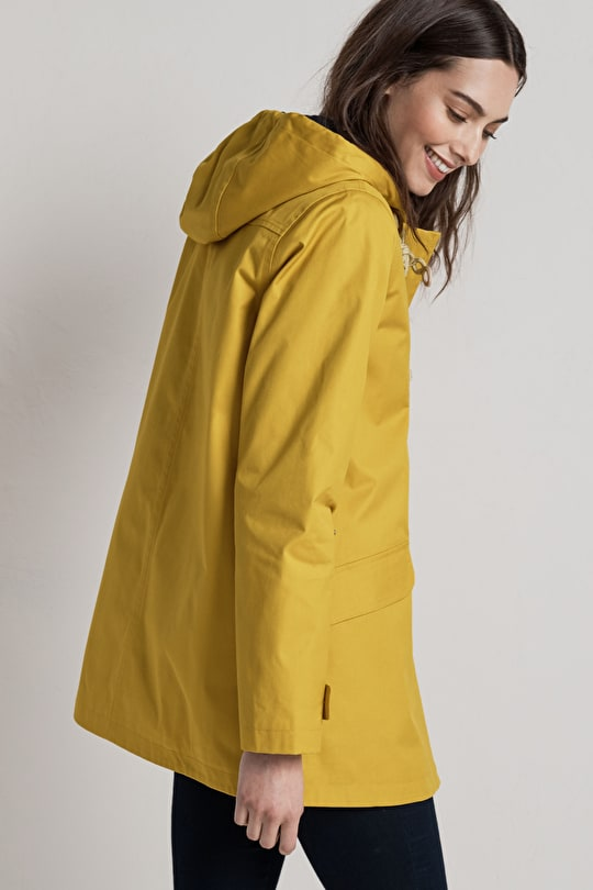 Long Seafolly Jacket. Lightweight & Waterproof raincoat - Seasalt