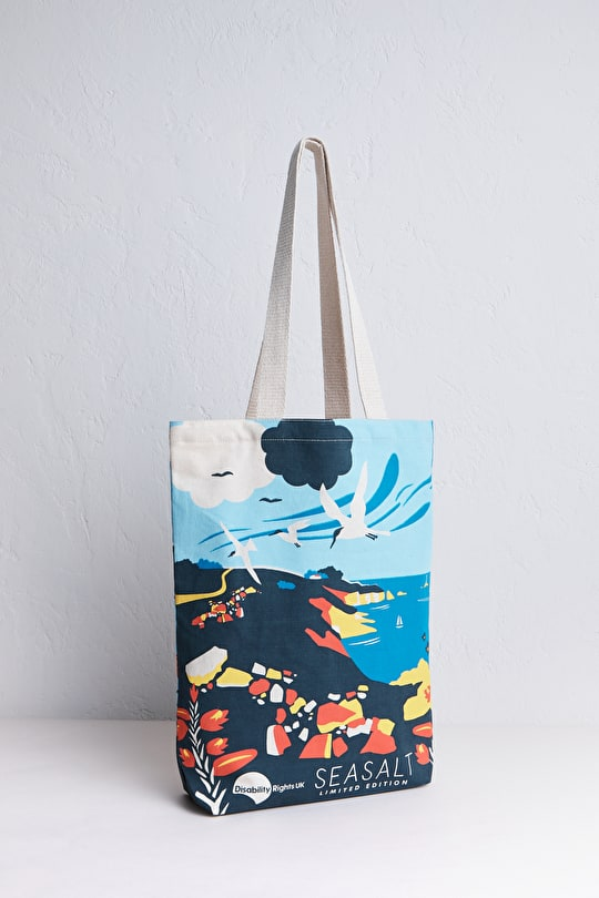 Unique Printed Charity Canvas Shopper Bag - Seasalt