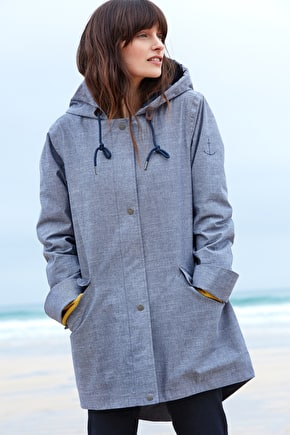 Sail Maker, Waterproof Cotton Tin Cloth Jacket - Seasaly