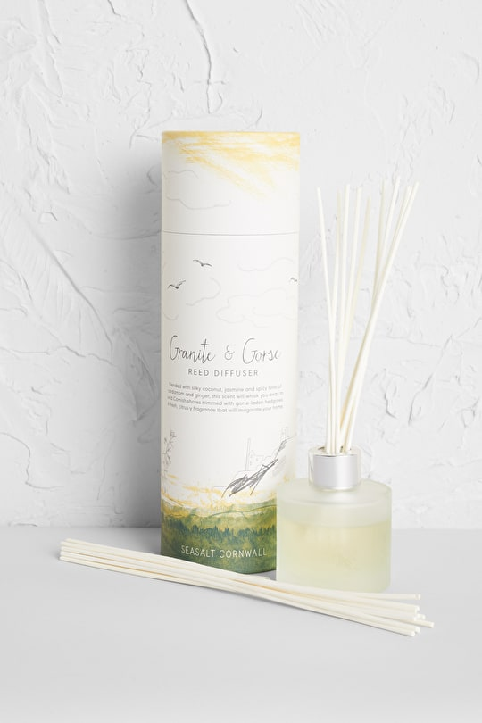 Granite & Gorse Reed Diffuser - Seasalt Cornwall