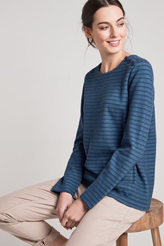 St Gluvias Cotton Sweatshirt - Seasalt
