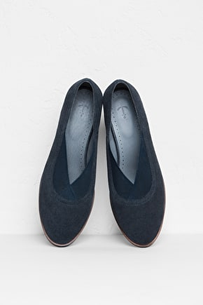 Downderry Shoe, Soft Suede Shoe