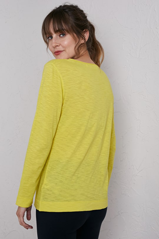 Fresh Breeze Top, Soft Organic Cotton Sports Top - Seasalt Cornwall