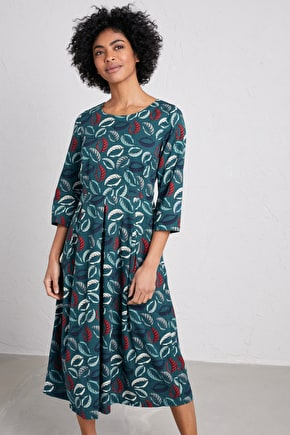 Window Box Dress, Midi Cotton Dress - Seasalt Cornwall