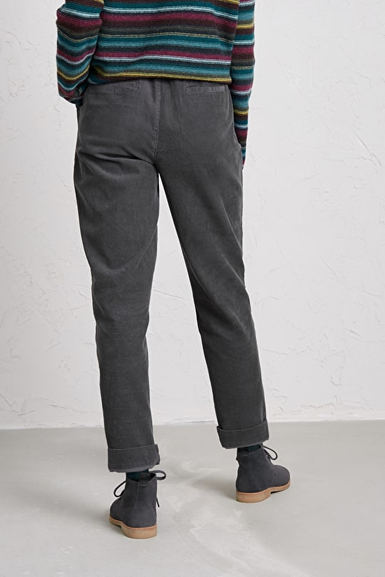 Tapered Trousers in Famously Soft Cord - Seasalt
