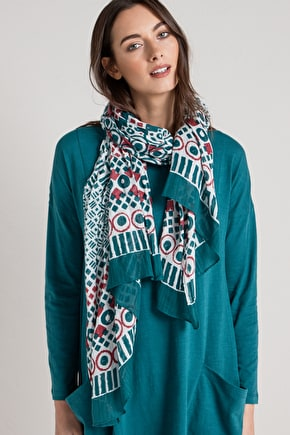 Whitewash Cotton Scarf - Seasalt