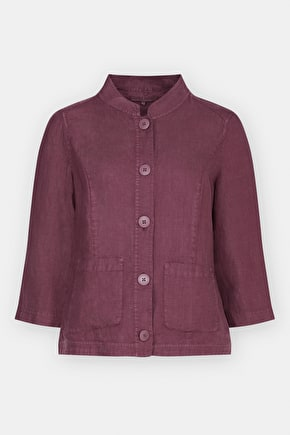 Bullfinch Jacket, Women's linen jacket - Seasalt