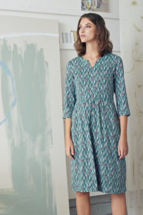 Attic Dress, Organic Cotton Long Dress - Seasalt Cotton