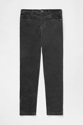 Straight Leg Slim Fit Strechy Cord, Lamledra Trousers - Seasalt