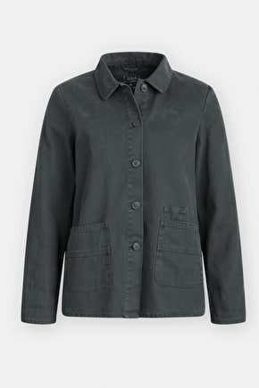 Gwithian Canvas Workwear Casual Jacket - Seasalt