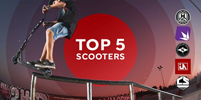 SkateHut's Top 5 Scooters For Summer - Featuring MGP & UrbanArtt