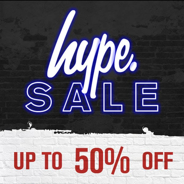 Up to 50% Off Hype