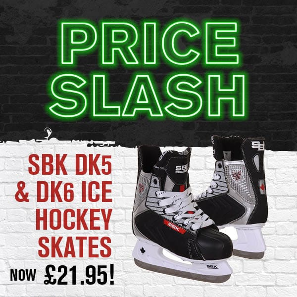 SBK Ice Hockey Skates Now £21.95