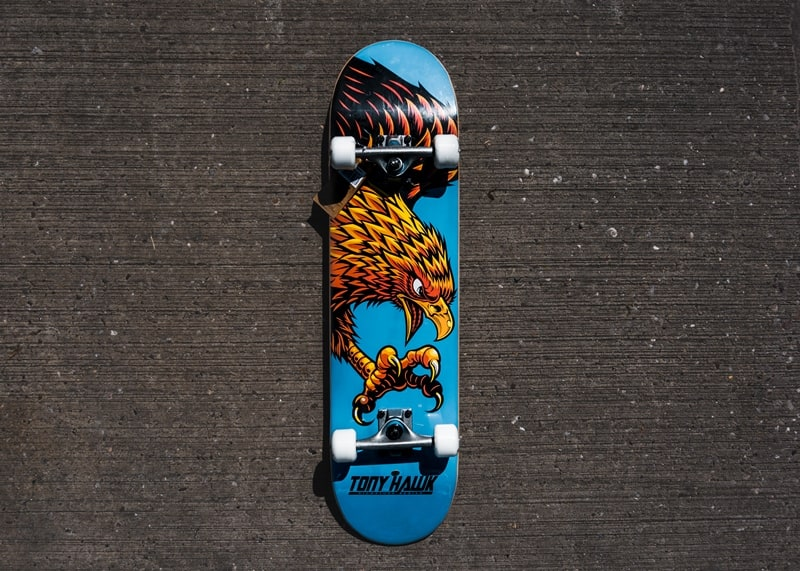 diving hawk skateboard