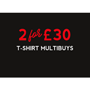 T-Shirt Multibuys: 2 For £30