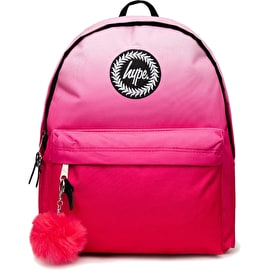 Hype Pink Fade Backpack - Pink