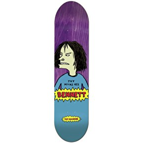 Toy Machine Skateboard Deck - Beavis Bennett 8.5