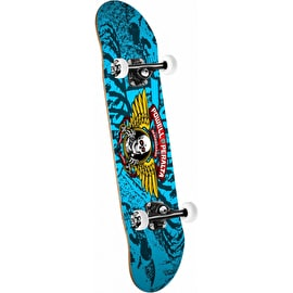 Powell Peralta Winged Ripper Complete Skateboard - Blue 7