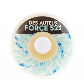 Force  Doug Des Autels Skateboard Wheels 52mm - Tie Dye