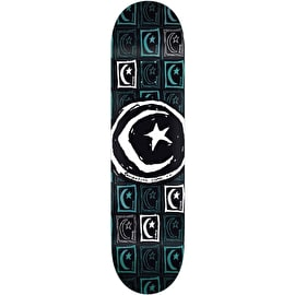 Foundation Star & Moon Square Repeat Skateboard Deck - 8.5