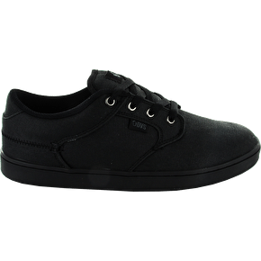 DVS Quentin Shoes - Black Canvas